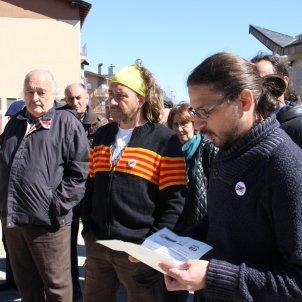 concentració protesta jutjats Puigcerdà - ACN