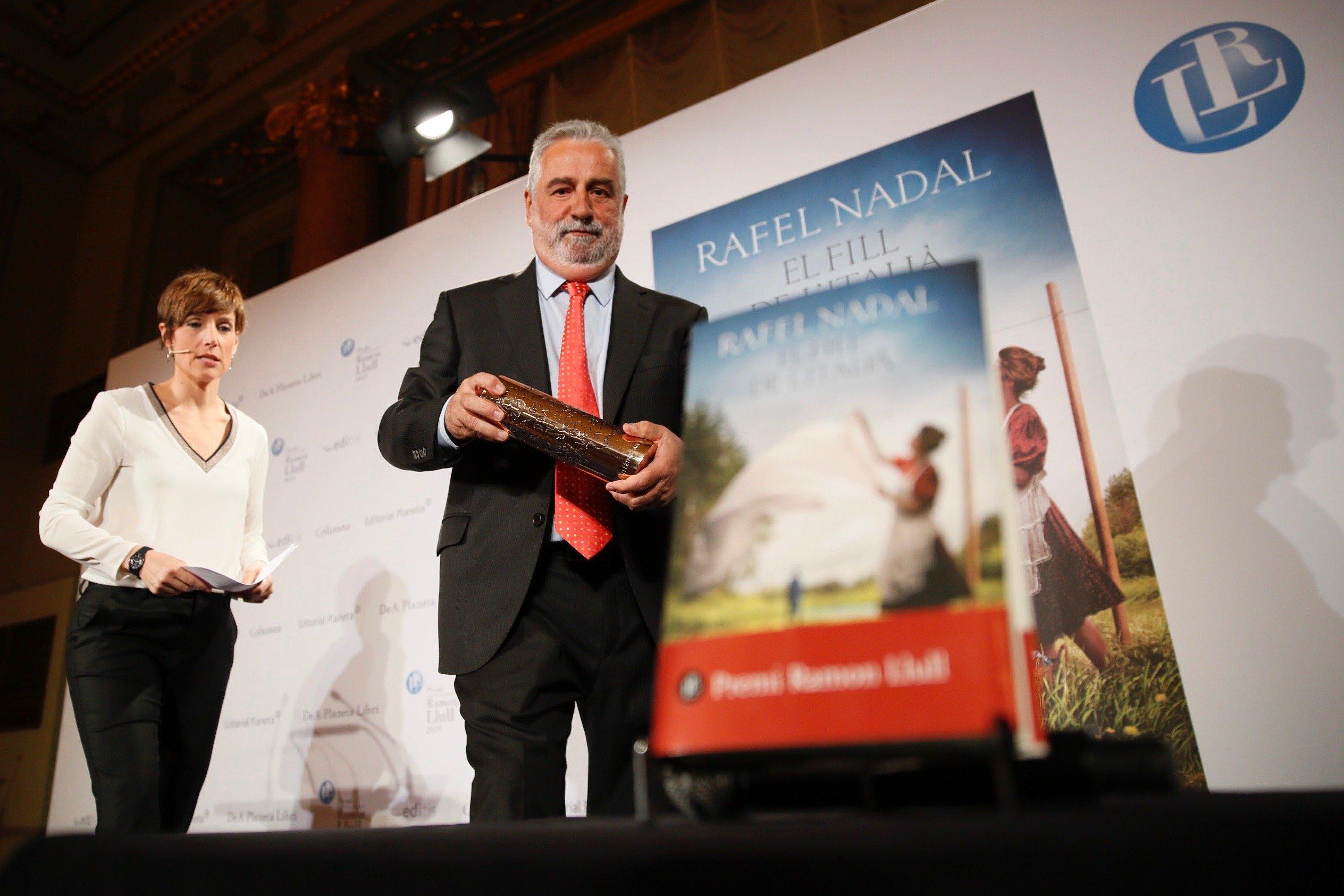 Rafel Nadal fill italià Sergi Alcàzar