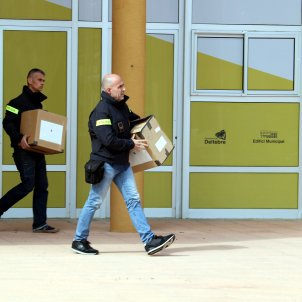 Escorcoll Mossos ajuntament Deltebre per corrupció - ACN