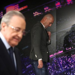 Zinedine Zidane Florentino Pérez Reial Madrid EFE