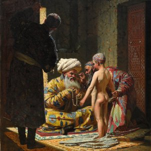 Venda d'un noi esclau, Vasily Vereshchagin, 1872