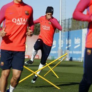Neymar entrenament FC Barcelona