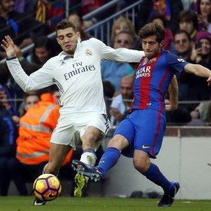 Sergi Roberto Kovacic Barça Reial Madrid Efe