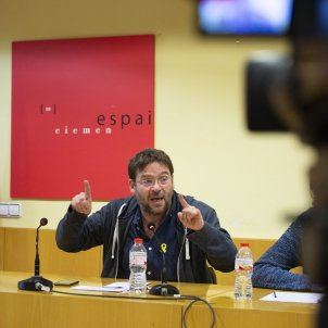 Albano Dante Fachin Guillem Fuster Front Republica Poble Lliure, Som Alternativa i Pirates de Catalunya - Sergi Alcazar
