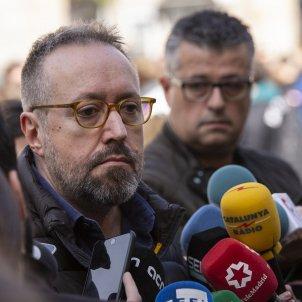 Ciutadans Girauta Llaç Groc Generalitat Plaça Sant Jaume  - Sergi Alcazar