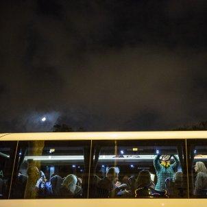 Autobus Voluntaris Manifestacio Madrid 16 M Sergi Alcàzar