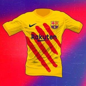 eddfdbd0b3991 Es filtra el disseny definitiu de la nova samarreta del Barça