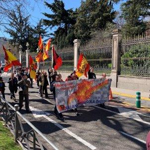 manifestació falangistes a Madrid Noicolas Tomás EL NACIONAL
