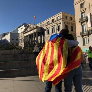 Estelada Congreso Manifestació Madrid - Carlota Camps