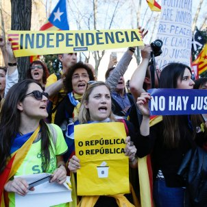 Manifestació Madrid Sergi Alcàzar