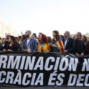 Manifestacio Madrid 16-M Independencia Llibertat Torra Borras  - Sergi Alcàzar