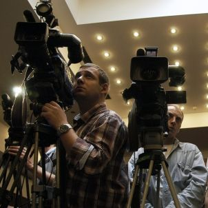 Periodistes de tv Tbilisi, 2010