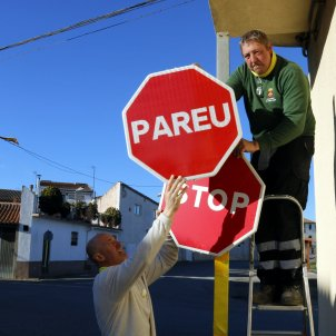 canvi senyals stop pareu Torrelameu - ACN