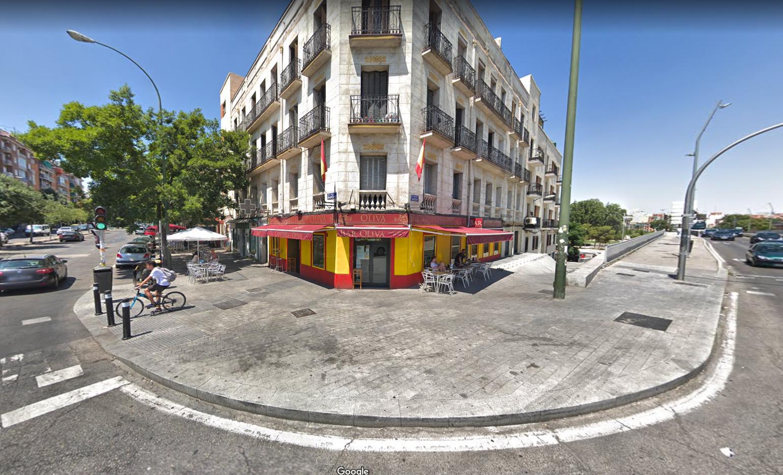bar franquista Madrid google maps