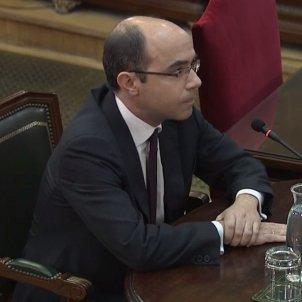 judici procés   Felipe Martínez Rico declarant