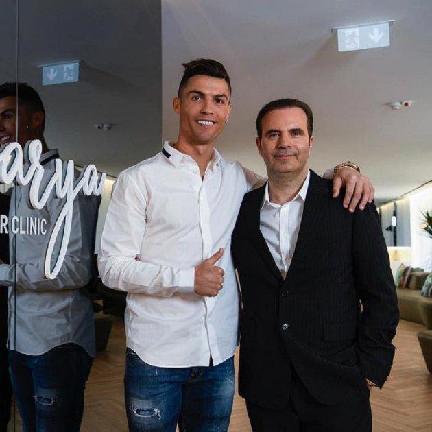 Cristiano Ronaldo estrena clínica de trasplante capilar