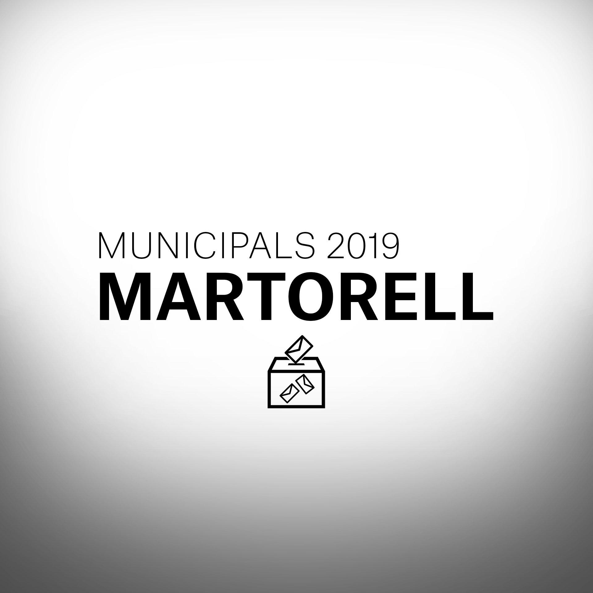 Card Municipals 2019 Martorell