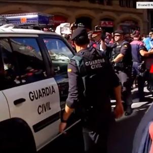 guardia civil mossos departament exteriors - captura