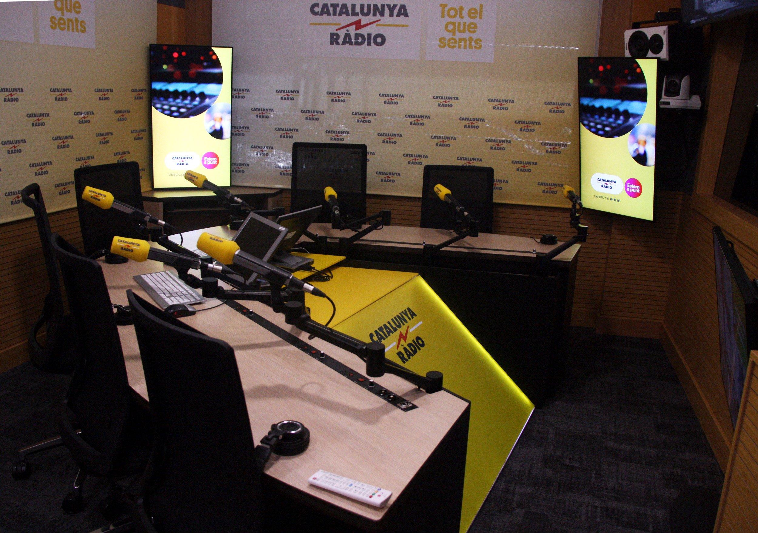 Estudi 1 Catalunya Ràdio ACN