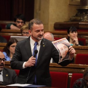 Alfred Bosch Parlament portada ABC Arrimadas - @exteriorscat