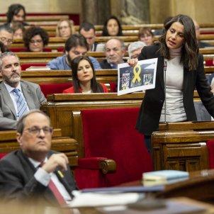 Arrimadas Torra Ple Parlament llaços Sergi Alcàzar 11