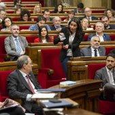 Arrimadas Torra Ple Parlament llaços Sergi Alcàzar 12