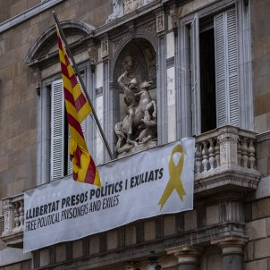 Llaç groc façana Generalitat Sant Jordi - Sergi Alcazar