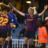 Barça femení Champions FC Barcelona