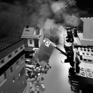 Berlín 1945 Lego (Éric Constantineau)