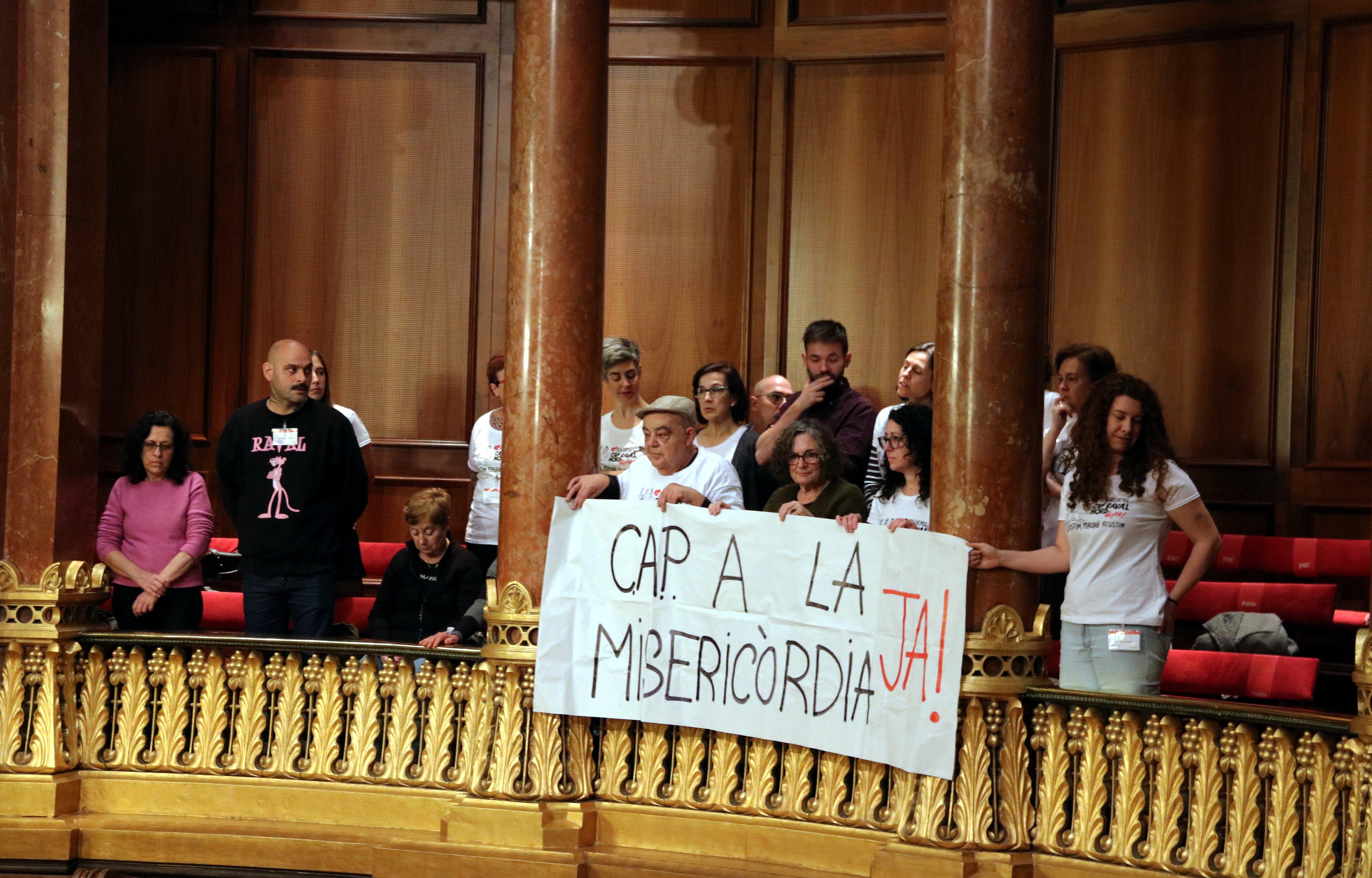 protesta veins CAP Raval Nord ACN
