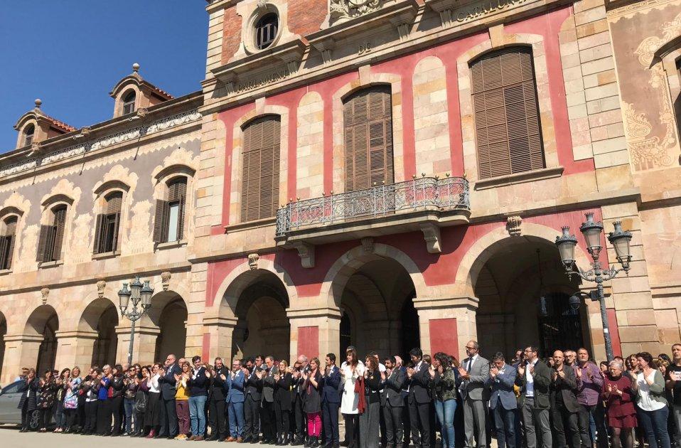 Parlament any presó Forcadell - Carlota Camps