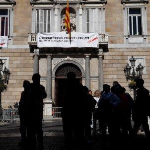palau Generalitat pancarta nova EFE