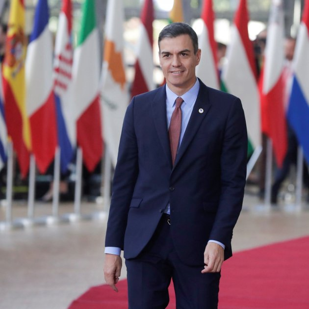 Pedro Sánchez Brussel·les Març 2019 Acn
