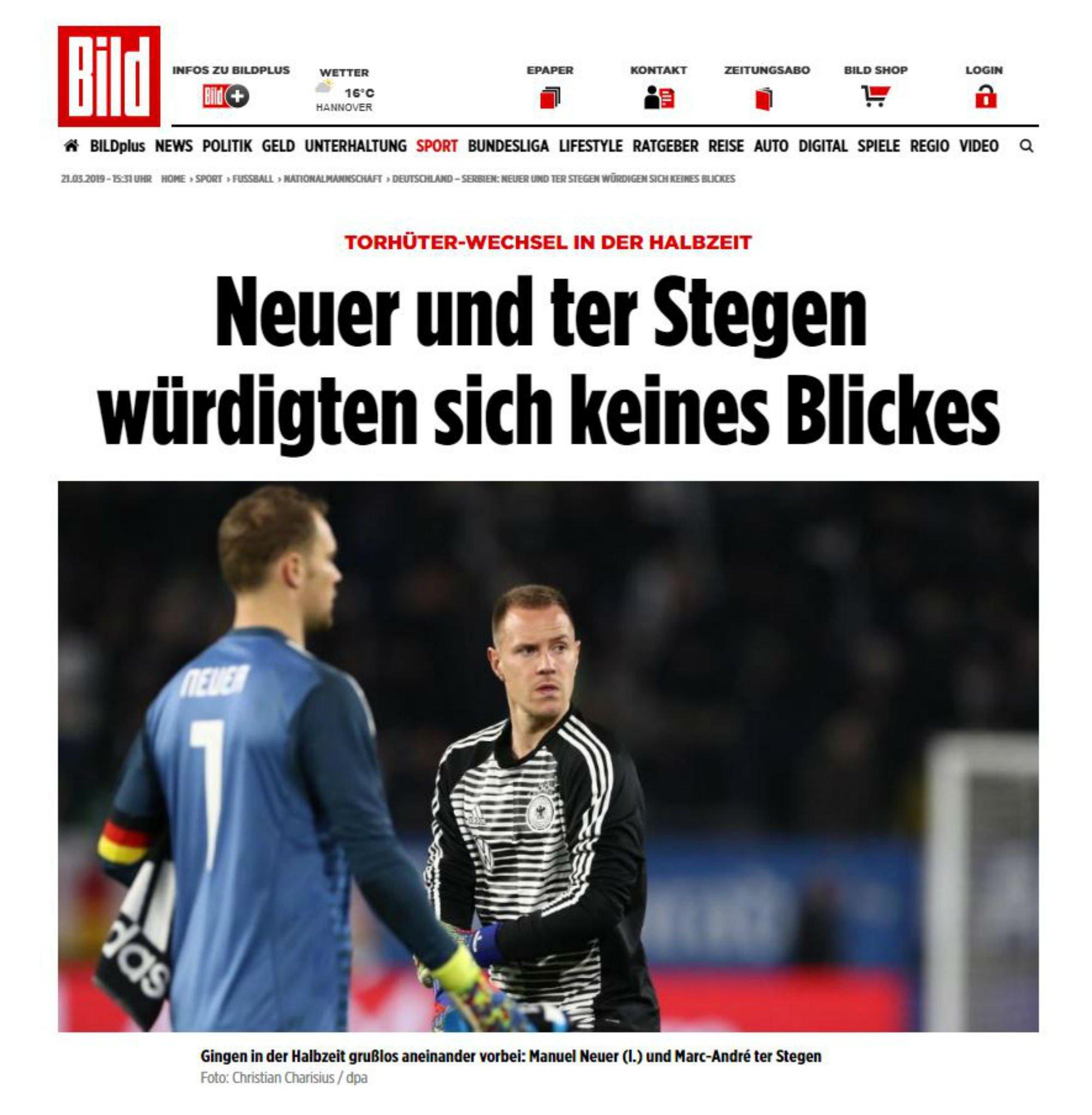 Ter Stegen se ha ganado ser titular con Alemania con justicia