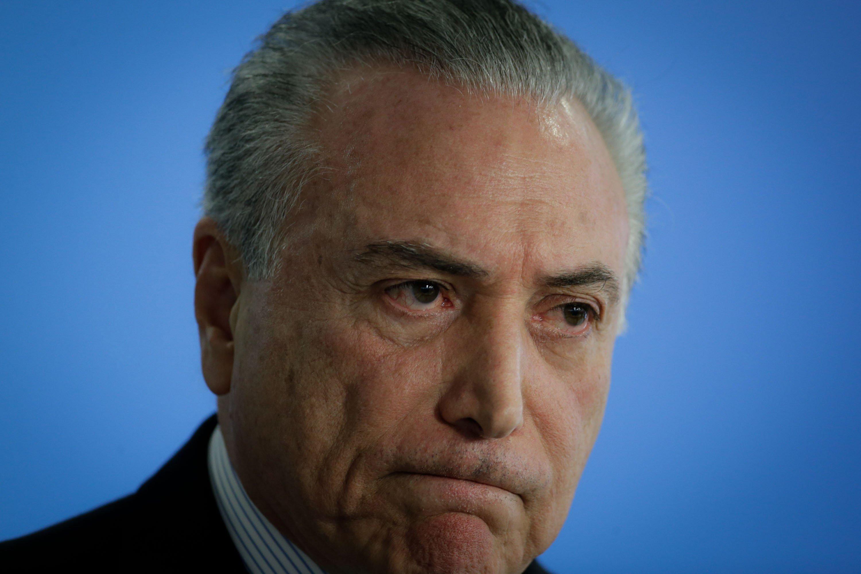 expresident Brasil Michel Temer - Efe