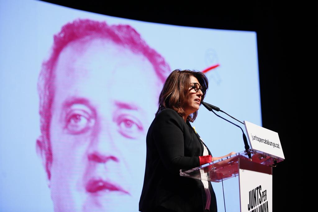 ELNACIONAL Laura MAsvidal acte JxCAt Barcelona Sergi alcàzar