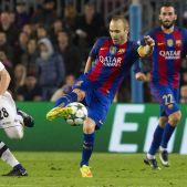 Andrés Iniesta Barça Gladbach Champions League Efe