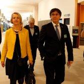 Carles Puigdemont Helga Stevens - ACN
