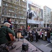 actuacio manifestacio anti vox carles palacio