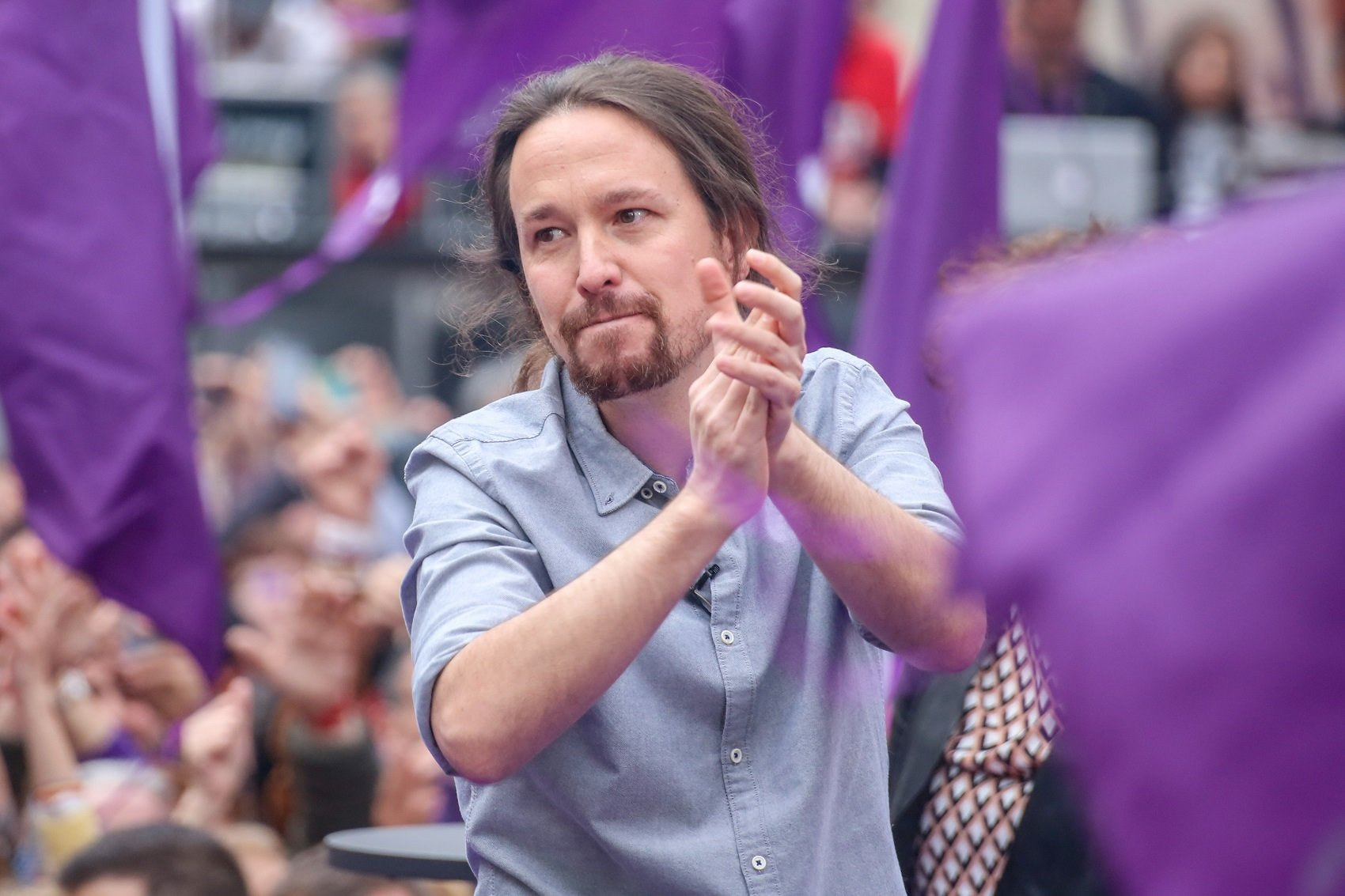 pablo iglesias miting madrid europa press
