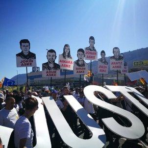 Manifestació joves Altsasu - @cupnacional
