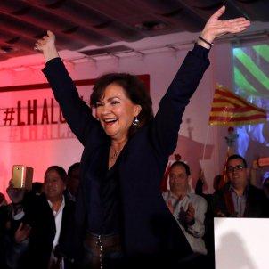 Vicepresidenta Carmen Calvo PSOE - Efe
