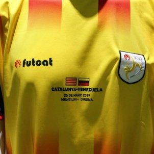 samarreta seleccio catalana veneçuela @FCF CAT