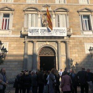 Presa posessió conselleries Palau de la Generalitat Marina Fernández