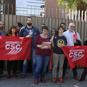 portaveus intersindical csc - acn