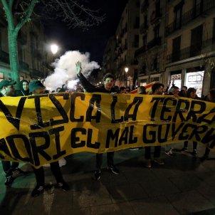 pancarta manifestació Catalunya Veneçuela Carles Palacio