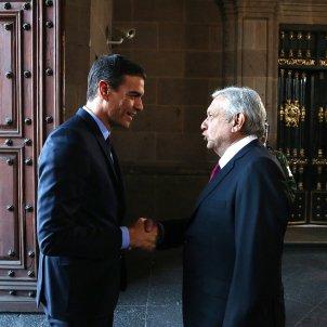 Pedro Sánchez Andrés Manuel López Obrador - europa press