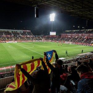 estelades partit catalunya veneçuela girona -bona qualitat- Carles Palacio