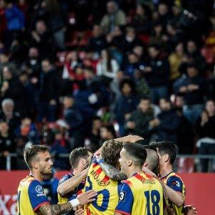 celebracio gol partit catalunya veneçuela girona -bona qualitat- Carles Palacio