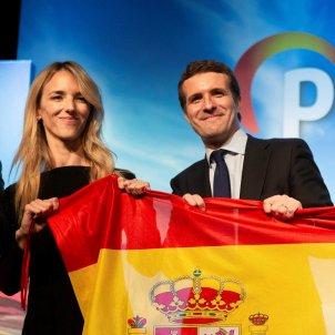 cayetana alvarez toledo pablo casado bandera espanola efe
